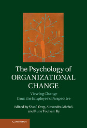 The Psychology of Organizational Change