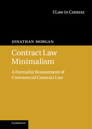 Contract Law Minimalism