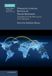Domestic Judicial Review of Trade Remedies