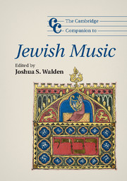The Cambridge Companion to Jewish Music