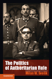 The Politics of Authoritarian Rule