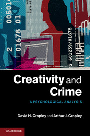 Creativity and Crime