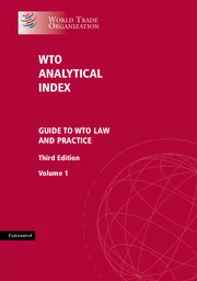 WTO Analytical Index