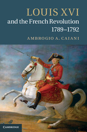Louis XVI and the French Revolution, 1789–1792