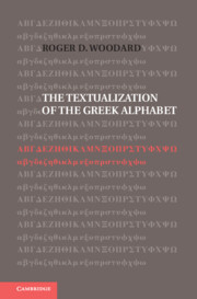 The Textualization of the Greek Alphabet