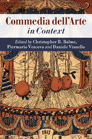 Commedia dell'Arte in Context