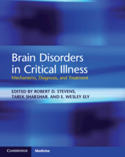 Brain Disorders in Critical Illness
