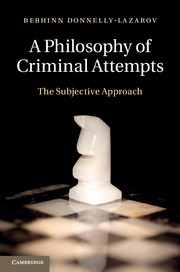 A Philosophy of Criminal Attempts