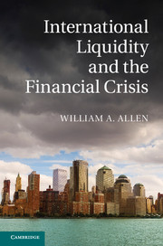 International Liquidity and the Financial Crisis