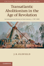 Transatlantic Abolitionism in the Age of Revolution