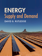 Energy: Supply and Demand