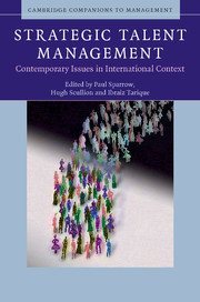 Strategic Talent Management