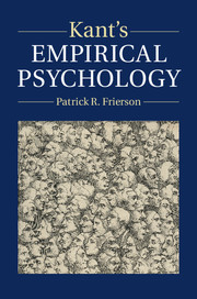 Kant's Empirical Psychology