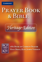Heritage Edition Prayer Book and Bible, CPKJ421