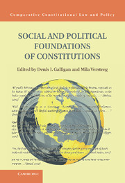 Social and Political Foundations of Constitutions