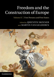 Freedom and the Construction of Europe