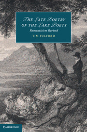 The Late Poetry of the Lake Poets
