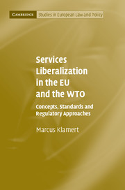 Services Liberalization in the EU and the WTO