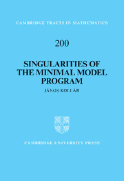 Singularities of the Minimal Model Program