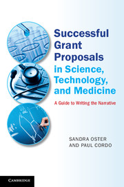 Successful Grant Proposals in Science, Technology, and Medicine