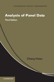 Analysis of Panel Data