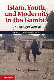 Islam, Youth, and Modernity in the Gambia