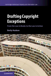 Drafting Copyright Exceptions