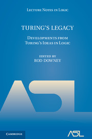 Turing's Legacy