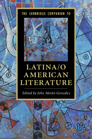The Cambridge Companion to Latina/o American Literature