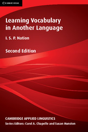 Learning Vocabulary in Another Language 2nd Edition