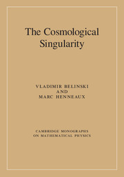 The Cosmological Singularity