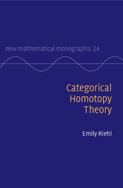 Categorical Homotopy Theory