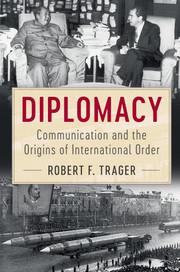 Diplomacy communication and origins international order | International  relations and international organisations