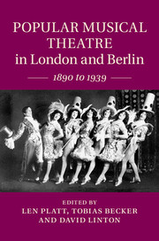 Popular Musical Theatre in London and Berlin