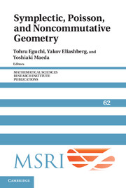 Symplectic, Poisson, and Noncommutative Geometry