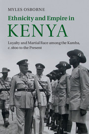 Ethnicity and Empire in Kenya
