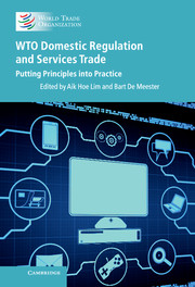 WTO Domestic Regulation and Services Trade