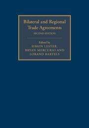 Bilateral and Regional Trade Agreements