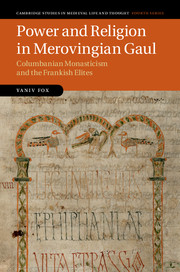 Power and Religion in Merovingian Gaul