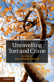 Unravelling Tort and Crime