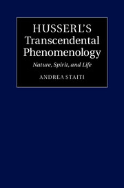 Husserl's Transcendental Phenomenology