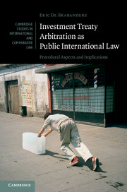 Investment Treaty Arbitration as Public International Law