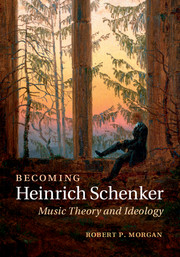 Becoming Heinrich Schenker