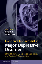 Cognitive Impairment in Major Depressive Disorder