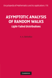 Asymptotic Analysis of Random Walks: Light-Tailed Distributions