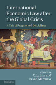International Economic Law after the Global Crisis