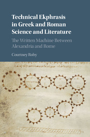 Technical Ekphrasis in Greek and Roman Science and Literature