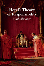 Hegel's Theory of Responsibility