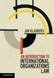 An Introduction to International Organizations Law