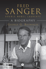 Fred Sanger - Double Nobel Laureate
